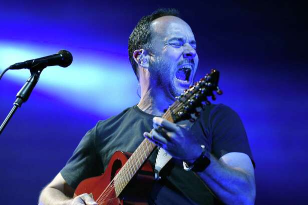 Dave Matthews performs alongside of Dave Matthews Band on Friday, July 12, 2019 at Saratoga Performing Arts Center in Saratoga Springs, NY. (Phoebe Sheehan/Times Union)