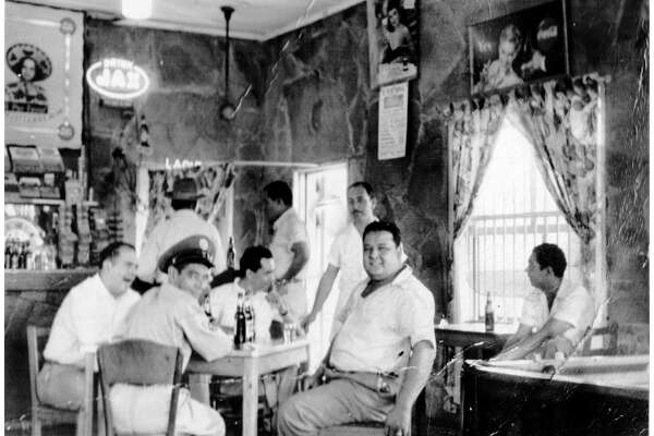 This photo taken in May 1951 shows patrons at the Paul-Marie Tavern near the corner of Zarzamora and what was then Durango on San Antonio's West Side. The tavern became the Paul Marie Drive Inn (without the hyphen) in the late 1940s, owned by Oscar Rodriguez Sr. and his brother, Osvaldo.