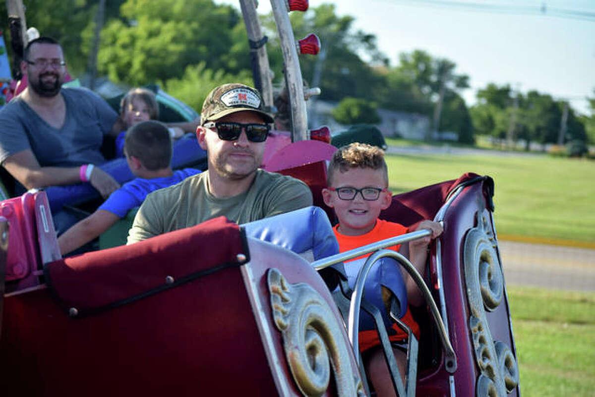 Sights from the carnival at the Morgan County Fair.