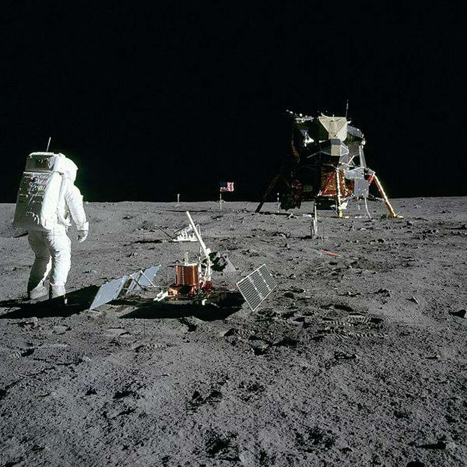 Astronaut Buzz Aldrin on the Moon during the Apollo 11 mission. Photo: Neil Armstrong / NASA