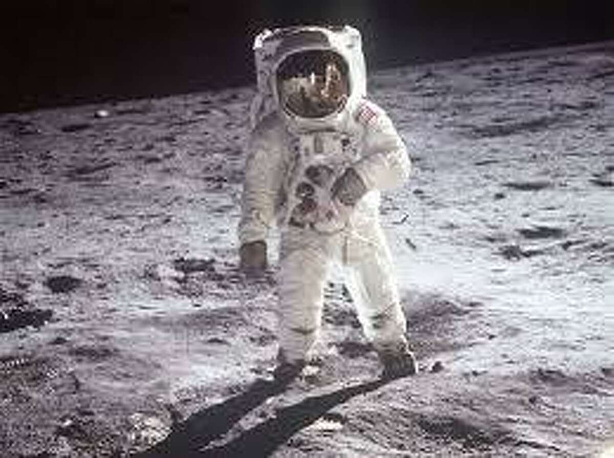 Apollo 11 launched from Earth on July 16, 1969 and on July 20 astronaut Neil Armstrong became the first human to walk on the moon's surface.