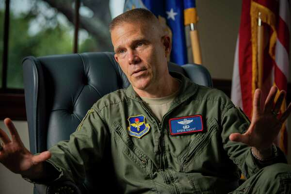 Air Force training commander flew through turbulent times in San Antonio