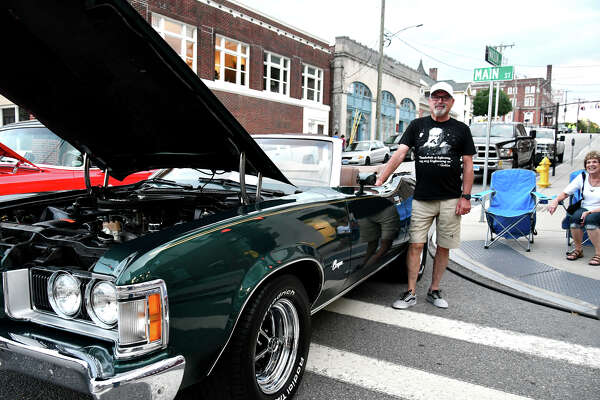"""The Torringford Volunteer Fire Department held their 22nd Annual Car Show on Main Street in Torrington on Friday, August 12th, 2019. Food Trucks and a live band, """"Days Off"""" were featured."""