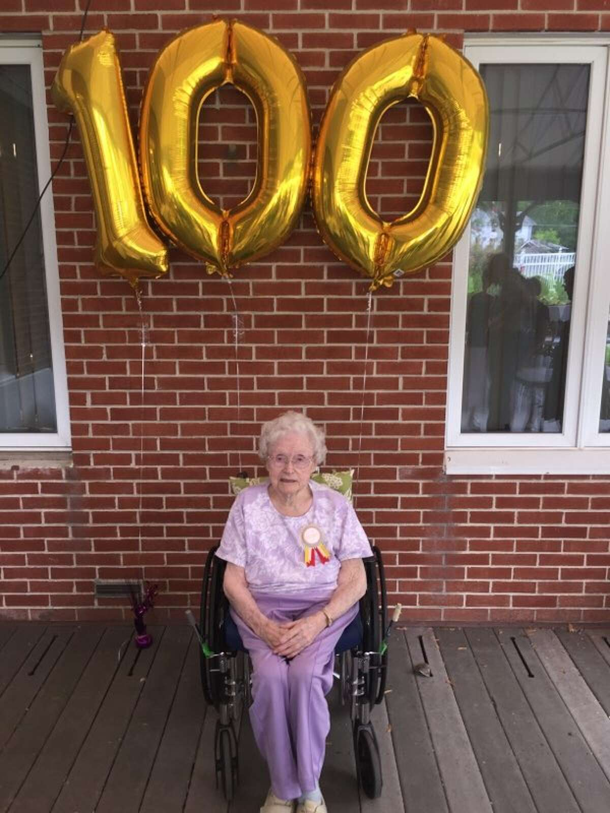 Dorothy Andrew Baker celebrated her 100th birthday recently at The Center for Nursing and Rehabilitation at Hoosick Falls. Dorothy has been a longtime resident of the Hoosick Falls area and moved to the center in 2018. Along with local relatives and friends, several family members traveled from Connecticut, Maine, Massachusetts and New Hampshire. Music has always been an important part of Dorothy's life, so as a surprise to her, some of her grandchildren and great grandchildren presented a recital. Solos and duets were played on the keyboard, guitar, trumpet, cello and violin, according to the center.