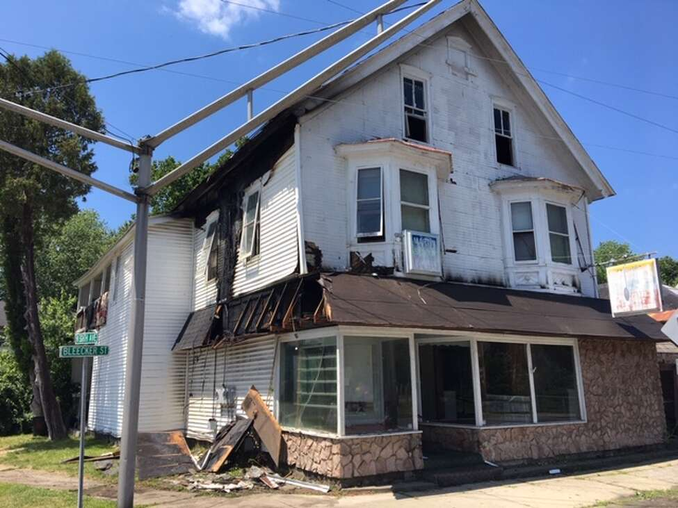 A contractor sparked a fire in a Gloversville's home on Saturday, July 13, 2019.