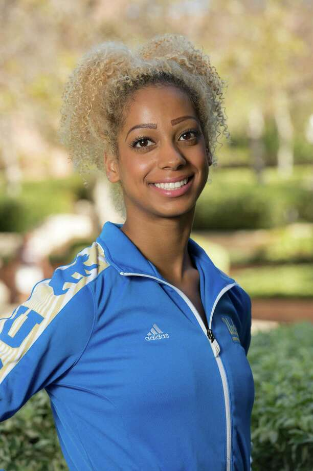 Former UCLA gymnast Danusia Francis, who will compete in the Aurora Games on Wednesday, Aug. 21, at Times Union Center. (UCLA athletics) Photo: Don Liebig / Copyright Don Liebig/ASUCLA