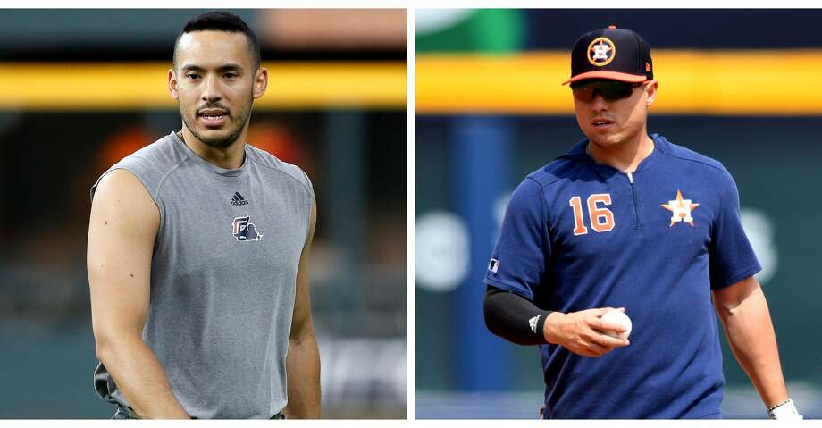 Astros' Carlos Correa, Aledmys Díaz need at least a week on rehab assignments