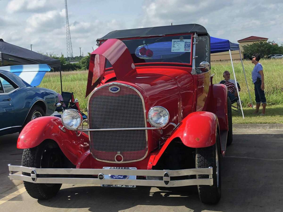 Among the cars at the Eastside Veterans car show fundraiser on July 13 was a 1929 Ford Model A