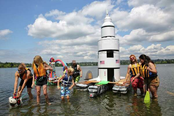 Fun and floating at the Seafair Milk Carton Derby