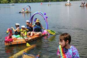 Competitors of all ages participate in the annual Seafair Milk Carton Derby, Saturday, July 13, 2019 at Green Lake.
