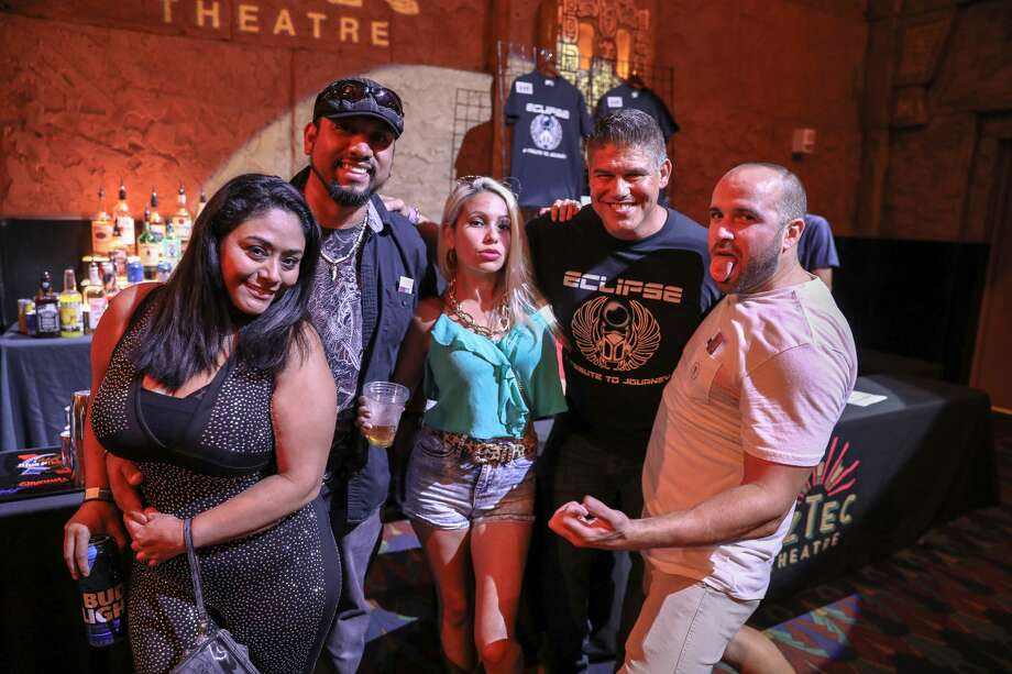Classic rock fans filled the Aztec Theatre to see Eclipse, a tribute to Journey, on Saturday, July 13, 2019. Photo: Marco Garza, For MySA.com