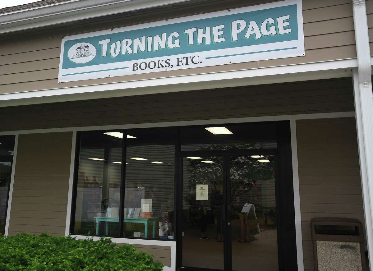 The new Turning the Page bookstore at 477 Main Street in Monroe, Conn. on Wednesday, June 19, 2019.