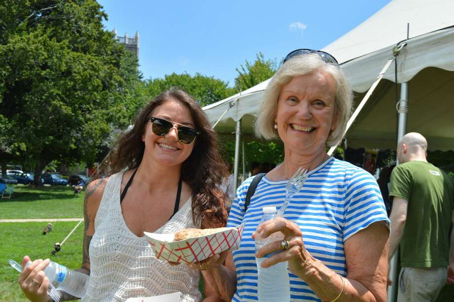 Chabad of Shoreline held its annual Jewish Festival on the Guilford Green on July 14, 2019. Festival goers enjoyed live music, crafts and kosher food. Were you SEEN? Photo: Todd Tracy / Hearst Media