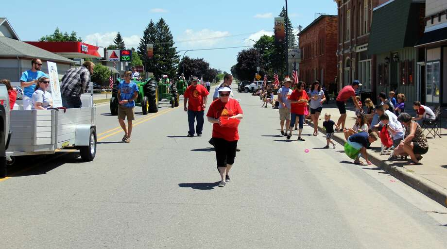 A parade strolls through Ubly during the village's homecoming event. Photo: Andrew Mullin/Huron Daily Tribune