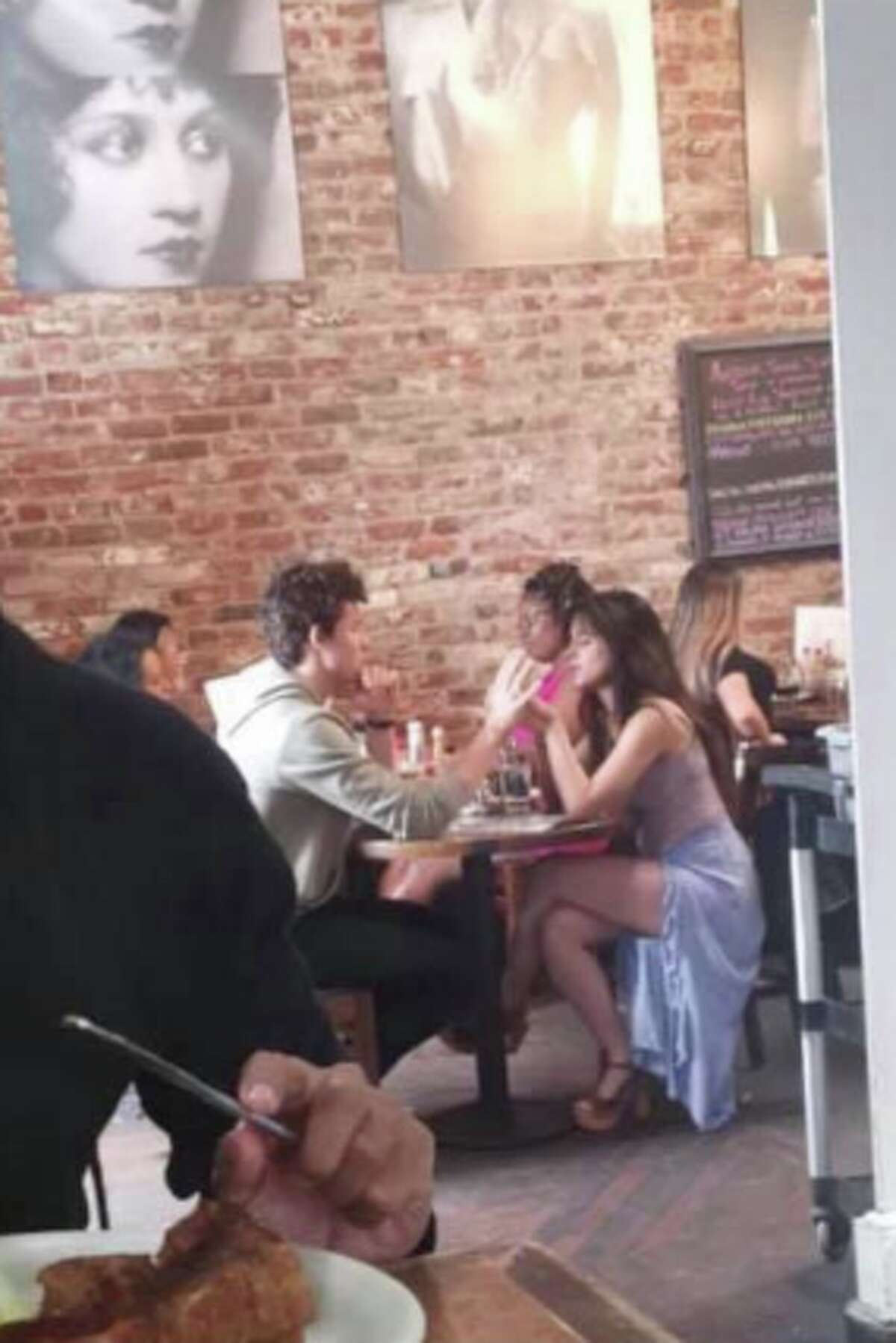 Singers Shawn Mendes and Camila Cabello were seen hopping around various SF spots, including Dottie's True Blue cafe this weekend.