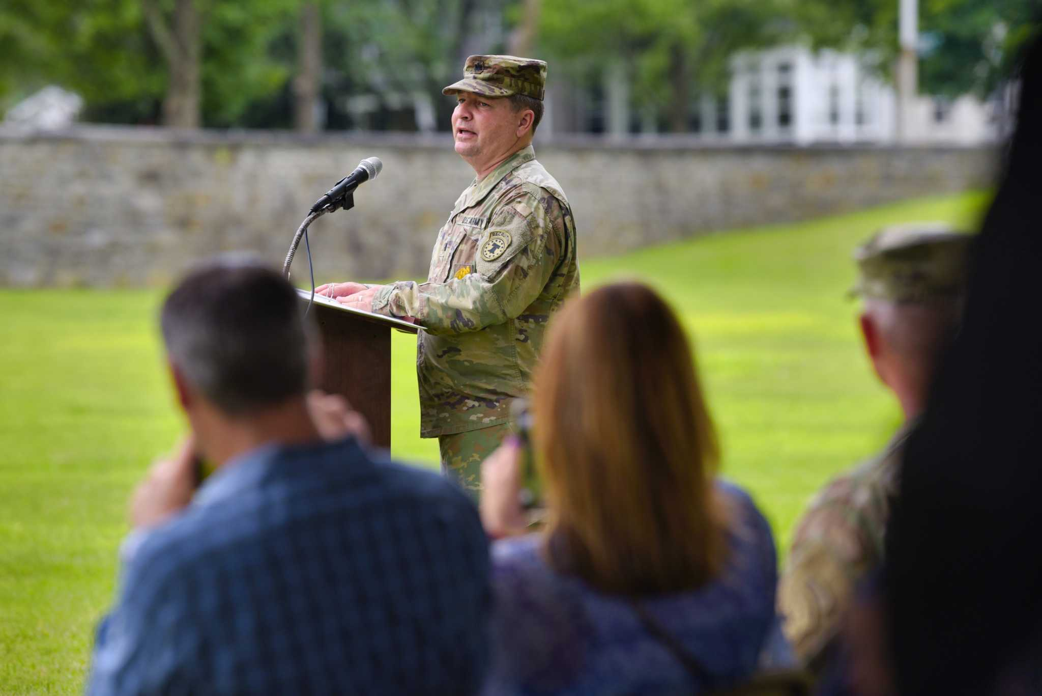 Duty Calls: Outgoing-battalion commander earns Legion of Merit