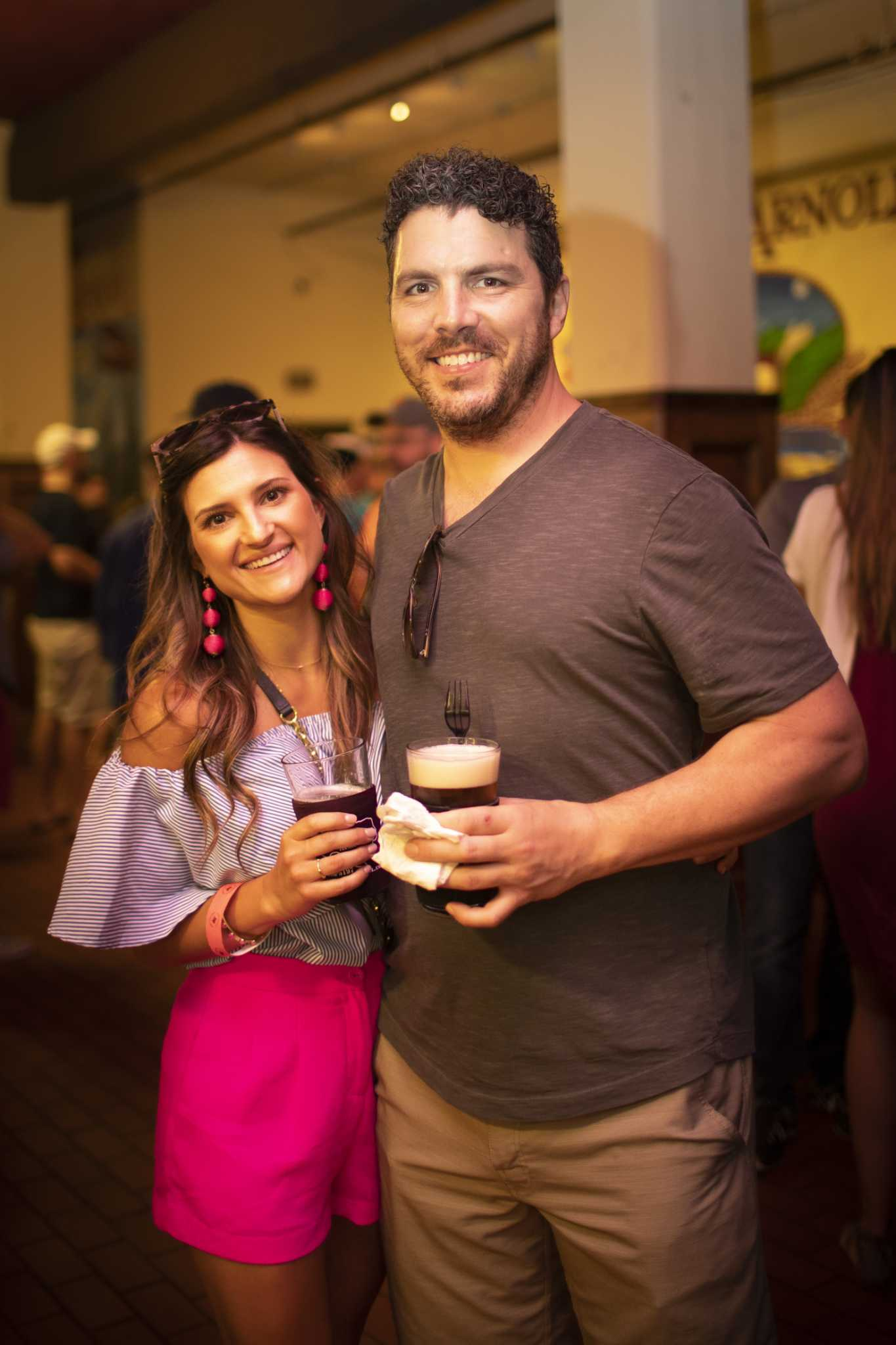 Hungry Houstonians crowd Tex-Mex BBQ Block Party at St. Arnold Brewing Co.
