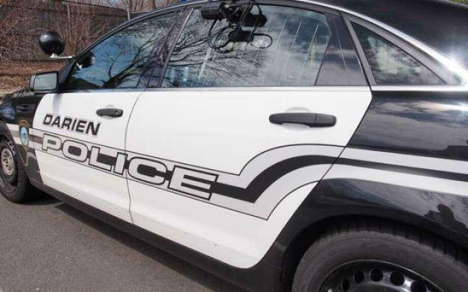 A Darien police car. Photo: Staff / Hearst Connecticut Media / Darien Times