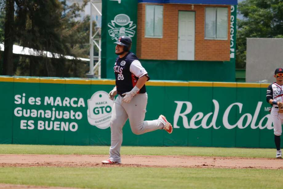 Balbino Fuenmayor had two hits in the Tecolotes' doubleheader Sunday. Photo: Courtesy Of Tecolotes Dos Laredos