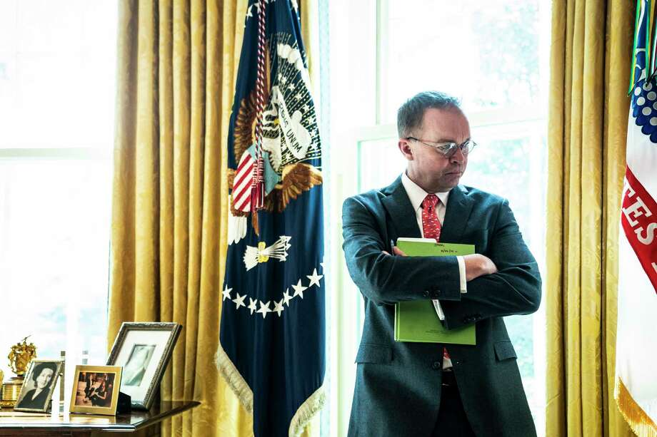 Mulvaney builds 'an empire for the right wing' as Trump's chief of staff