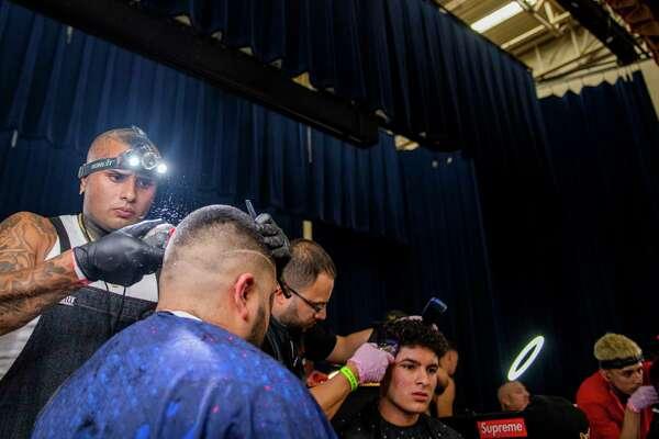 Barbers cut a niche at San Antonio expo - ExpressNews com