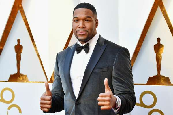 HOLLYWOOD, CA - MARCH 04: Michael Strahan attends the 90th Annual Academy Awards at Hollywood & Highland Center on March 4, 2018 in Hollywood, California. (Photo by Jeff Kravitz/FilmMagic)