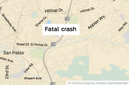 Fatal crash kills driver, snarls I-80 traffic in San Pablo