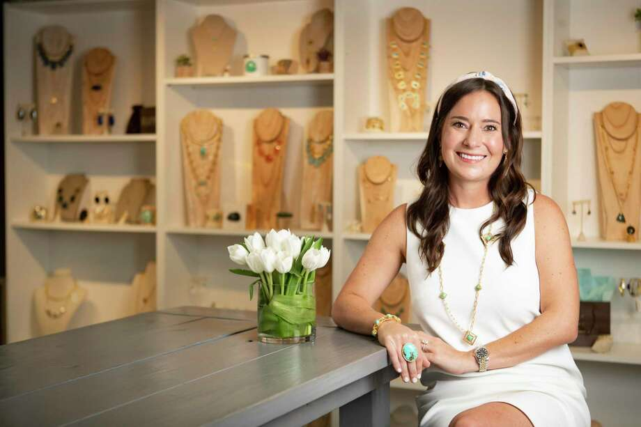 Christina Greene's namesake jewelry line is based in Houston. Photo: Marie D. De Jesús,  Houston Chronicle / Staff Photographer / © 2019 Houston Chronicle