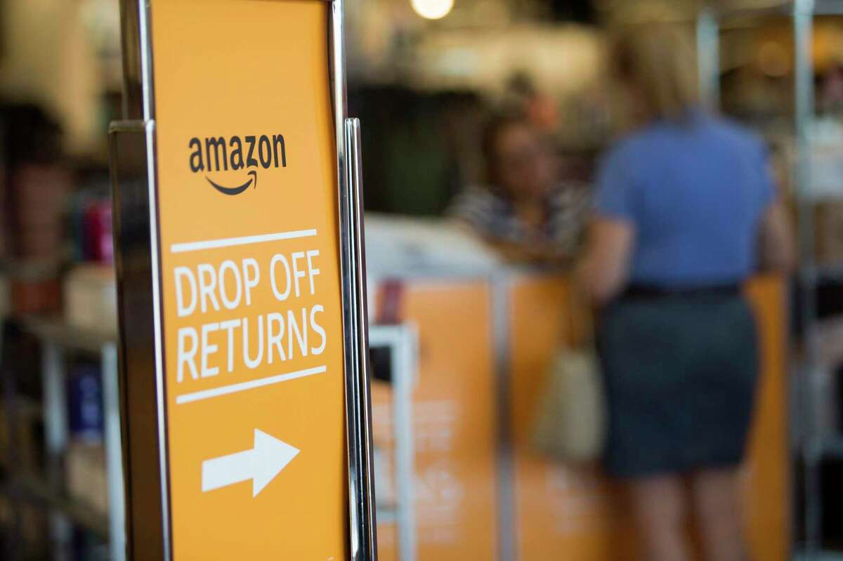 Kohl's now accepts Amazon returns its Meyerland location in Houston, Wednesday, July 10, 2019. Kohl's hopes to drive more customers into its brick-and-mortar stores through the partnership.
