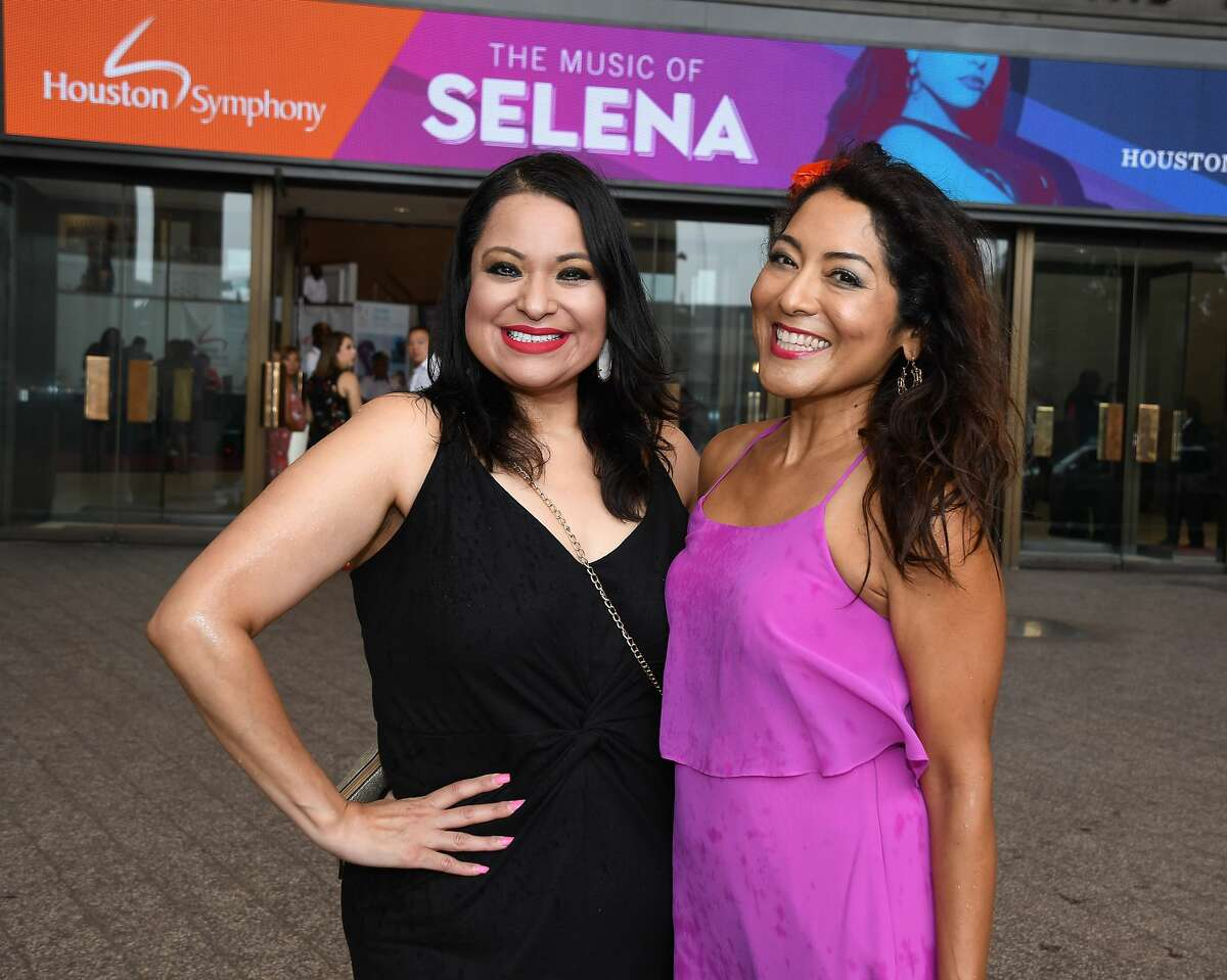 Fans at the Houston Symphony's tribute to Selena-The Queen of Tejano at Jones Hall Saturday July 13, 2019.(Dave Rossman Photo)