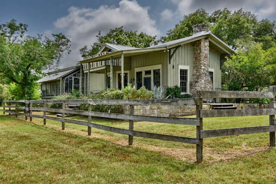 The criminal defense attorney Dick DeGuerin has listed a portion of his family ranch, complete with a former train depot that has been converted to a home, for @1,200,000.