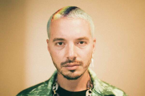 """Colombian singer J Balvin in Paris, June 22, 2019. J Balvin and Puerto Rican singer Bad Bunny, two of the biggest Spanish-speaking global pop superstars, join forces on """"Oasis,"""" a new eight-song collaborative album. (Julien Mignot/The New York Times)"""