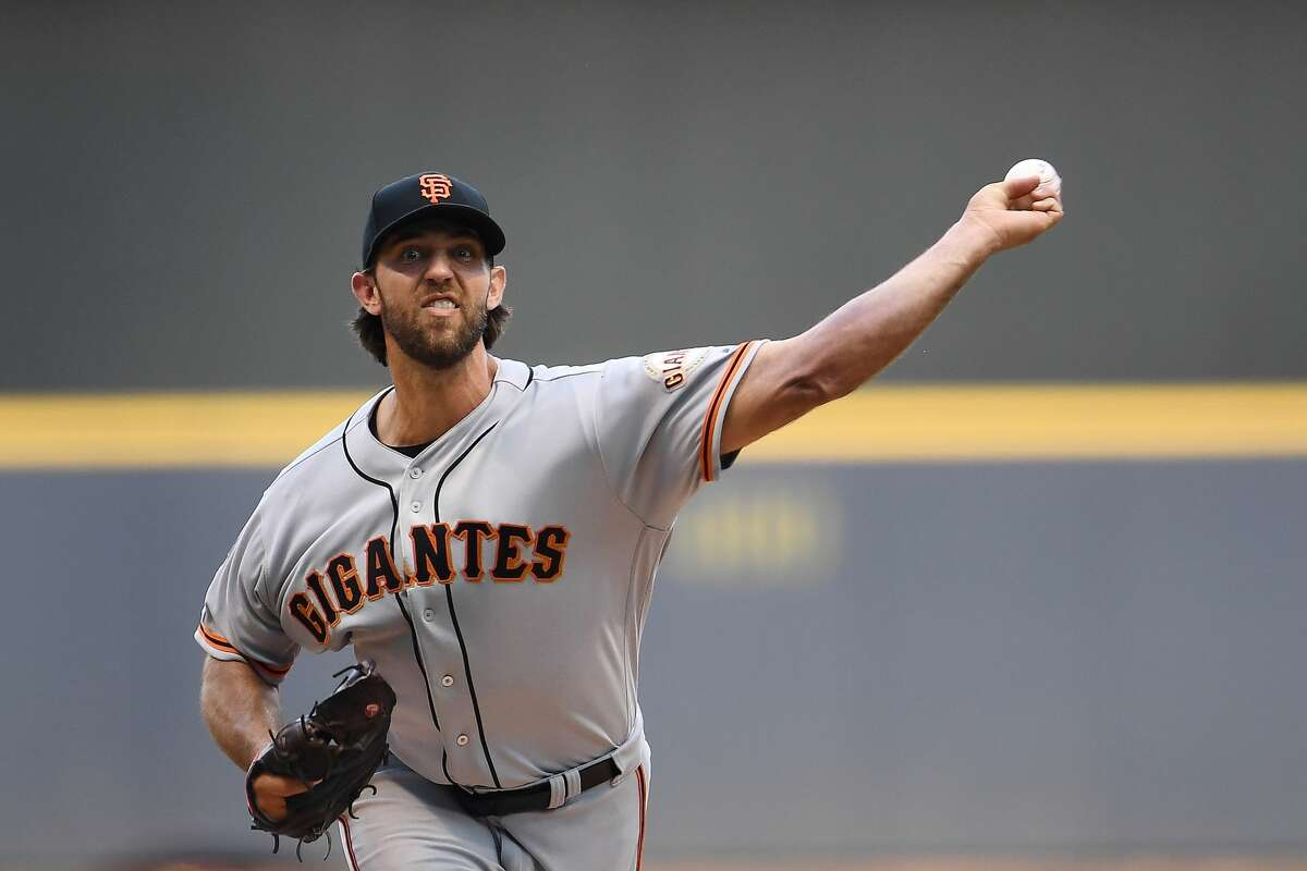 """Madison Bumgarner, starting pitcher, Giants Yahoo's Tim Brown reported Tuesday the Astros are """"engaged"""" in talks with the Giants about Bumgarner.Bumgarner hasn't looked as dominant as he once was, but he just turns 30 in August and should have plenty in the tank, especially for a postseason run where he's been lights out in the past. Bumgarner can become a free agent after this season."""