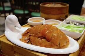 Peking duck at Bamboo House