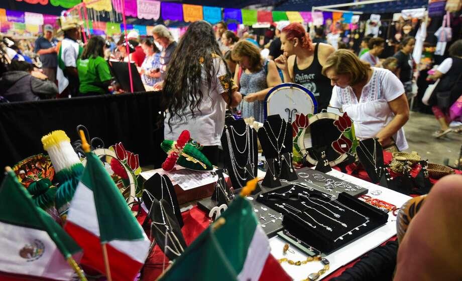 The Sister Cities Festival draws a crowd to the Sames Auto Arena on Saturday, Jul 13, 2019. Photo: Danny Zaragoza