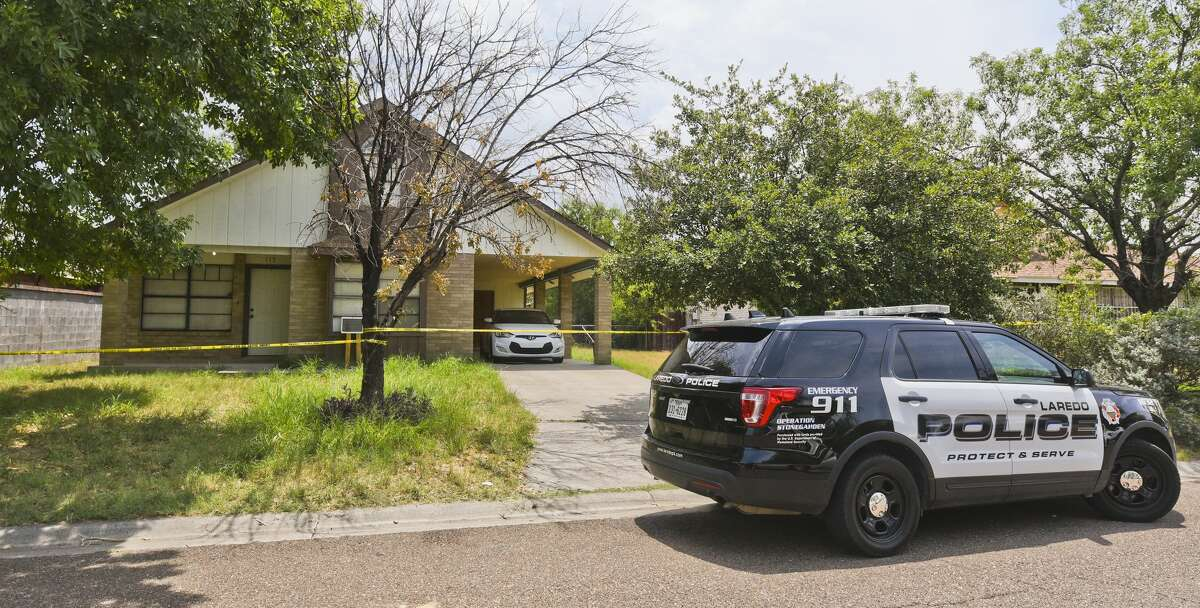 An exterior view of the house on the 100 block of St. Pierre Lane where Myriam Camarillo, 27, was found deceased, Saturday, Jul 13, 2019, after a four day search by Laredo Police with the help of the community.