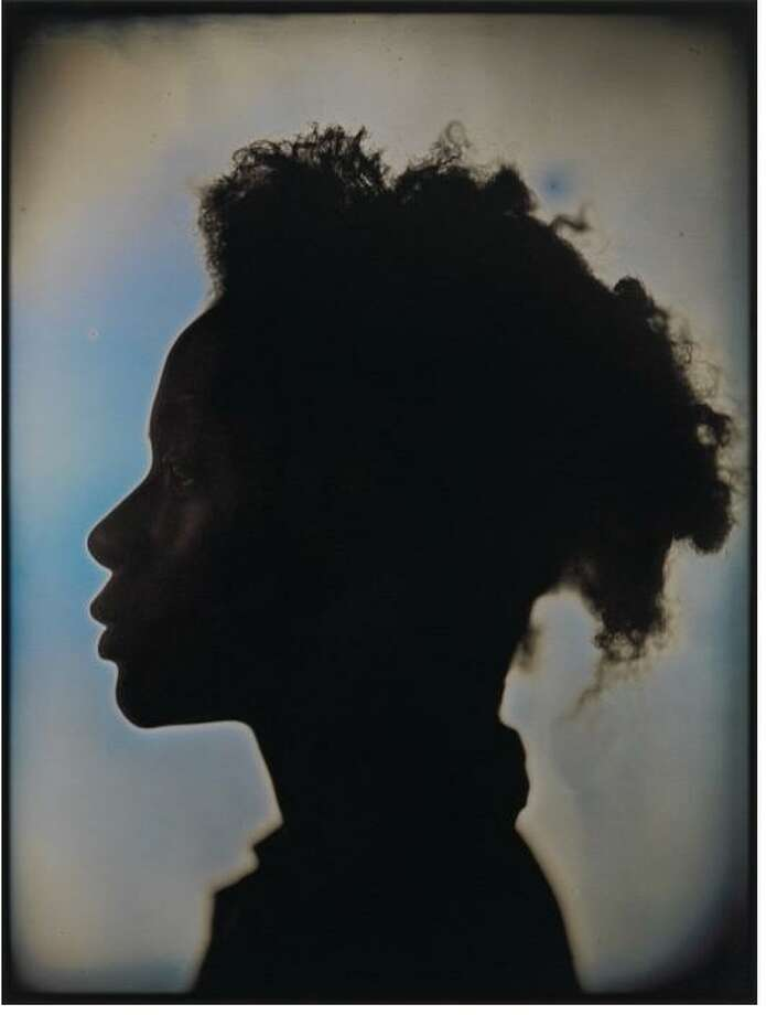 "Chuck Close's ""Kara Walker"" is among objects on view through Aug. 3 at Heidi Vaughan Fine Art in the show ""Objects from Lester Marks and Other Private Collections."" Photo: Heidi Vaughan Fine Art / Heidi Vaughan Fine Art"