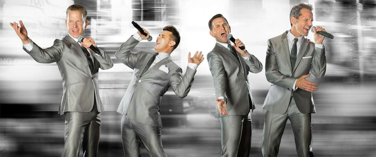 """The Midtown Men, featuring the four stars from the original Broadway cast of """"Jersey Boys,"""" will be at Stamford's Palace Theatre Sept. 14 to sing '60s hits."""