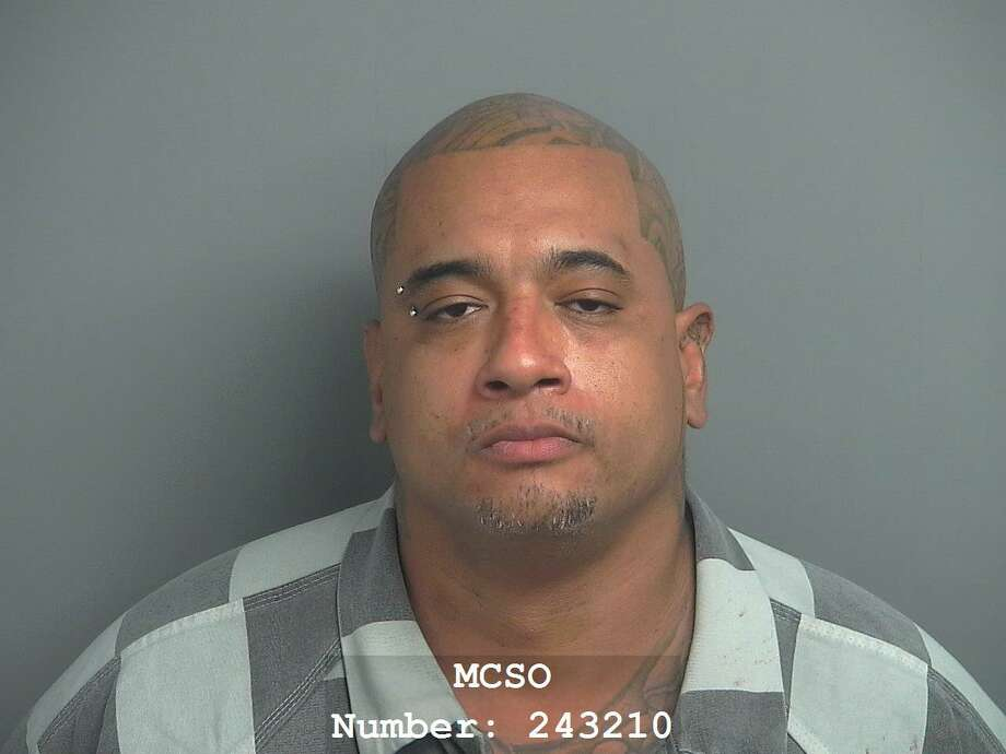 Jeffrey Olivera, 36, of Willis, was convicted of assault with a deadly weapon, family violence, a second-degree felony. He was sentenced by a judge to 50 years in prison. Photo: Courtesy Of The Montgomery County Sherrif's Office