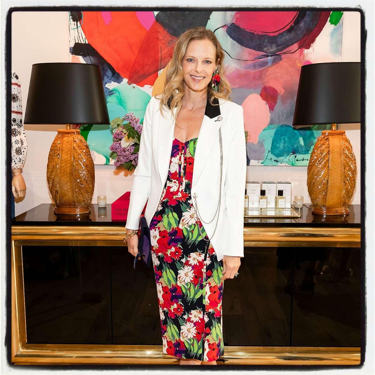 Katie Traina the launch of Veronica Beard boutique. June 18, 2019.