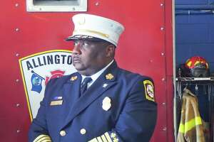 New Haven Fire Department Chief John A. Alston Jr. responded to Ground Zero in Manhattan after the terrorist attacks on September 11, 2001, while working as a Jersey City firefighter. Alston spoke at a news conference at the West Haven Fire Department on Monday July 15, 2019 advocating for more funding for the Sept. 11 Victim Compensation Fund.