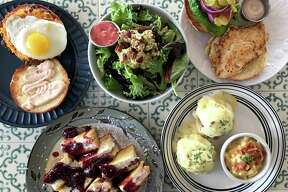 A selection of menu items from Comfort Café