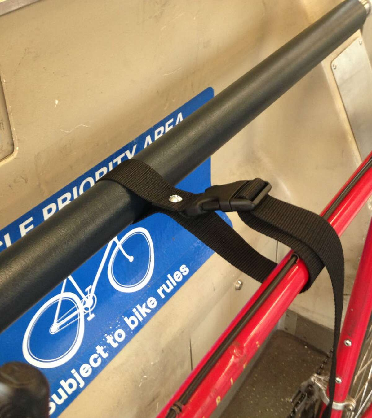 After a successful trial run, BART officials announced Monday that new bike straps would be attached to the rails of all trains in order for riders to achieve an overall easier onboard experience.