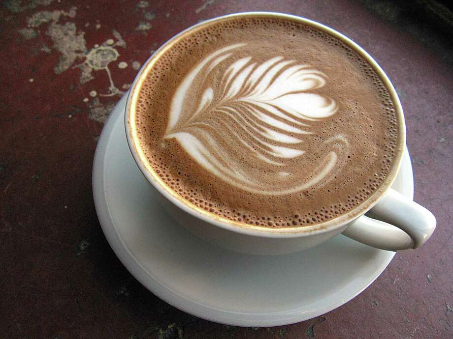Mocha latte from White Elephant Coffee Co. The popular Southtown coffee shop will close at the end of July. Photo: Mike Sutter /Staff File Photo