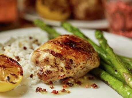 Lemon-Ginger Grilled Chicken
