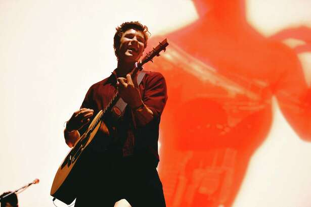 LOS ANGELES, CALIFORNIA - JULY 05: Shawn Mendes peforms in concert in Los Angeles, CA at Staples Center on July 05, 2019 in Los Angeles, California. (Photo by Matt Winkelmeyer/Getty Images)