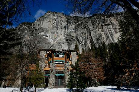The Ahwahnee in Yosemite National Park, Calif. on Fri. January 15, 2016. Yosemite National Park has has agreed to change the names of The Ahwahnee to the Majestic Yosemite Hotel and Curry Village the Half Dome Village after a lawsuit filed by a contractor claimed it owned the names of the many legendary buildings and campgrounds.