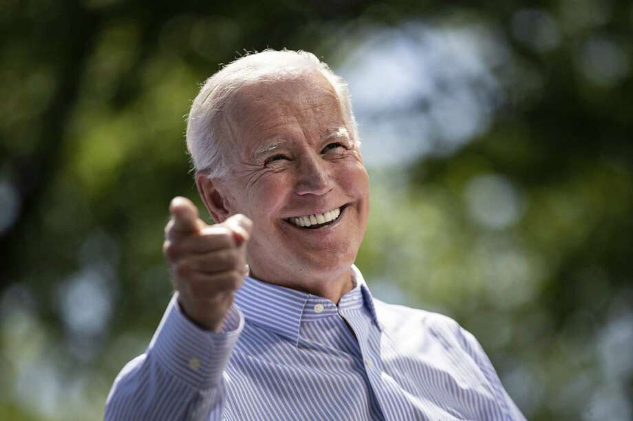Former Vice President Joe Biden held his campaign kickoff rally in Philadelphia. Pennsylvania, his birth state, is one of the states Democrats will have to win back to beat President Donald Trump in 2020. Photo: Drew Angerer /Getty Images / 2019 Getty Images 2019 Getty Images