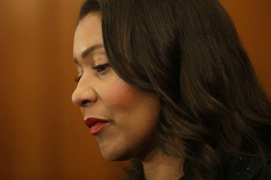 Mayor London Breed speaks about the SFMTA during a press conference in the Mayor's Office at City Hall on Monday, April 29, 2019 in San Francisco, Calif. Photo: Lea Suzuki / The Chronicle