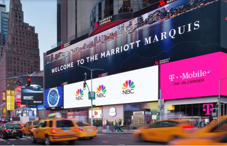 "New York City's Marriott Marquis at Times Square charges $30 a night as a ""destination amenity fee."" Photo: Marriott"